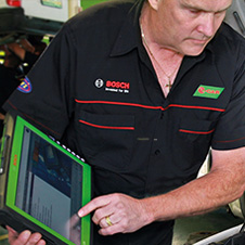 car diagnostics e car workshops