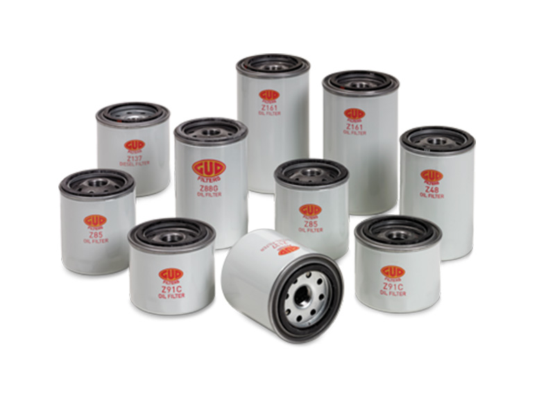 gud oil filters e-car
