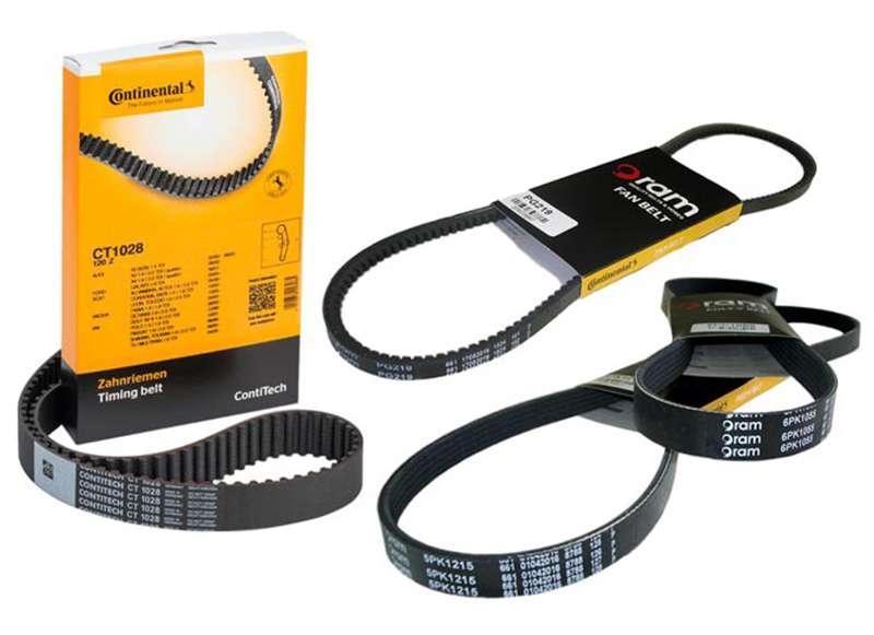 Suppliers Continental ram fan belts e car