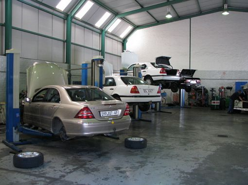 stellenbosch tomson motors workshop