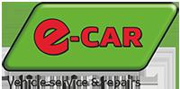 e-CAR Logo