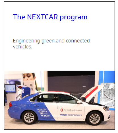 delphi nextcar program e car