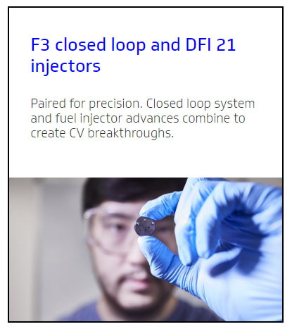 f3 closed loop and dfi 21 injectors e car